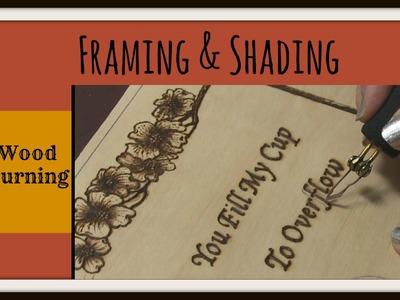 Wood Burning Dogwood Plaque – Framing & Shading Tutorial