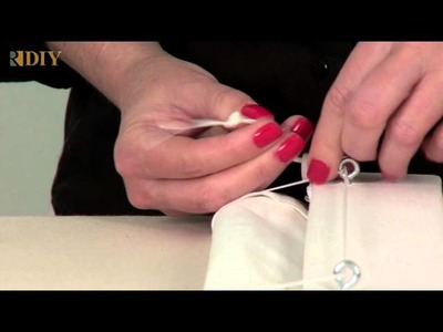 09 How to Use a Cord Condenser for Roman Shade Cords