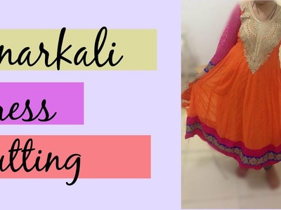 24 Panel Anarkali Dress Part 1 - Marking and Cutting