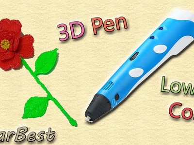 3D Pen Economica a soli 26€ !?? Review and Demo!! Gearbest.com ★
