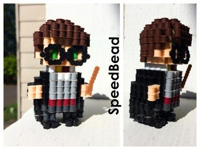 3D Perler Bead Harry Potter!