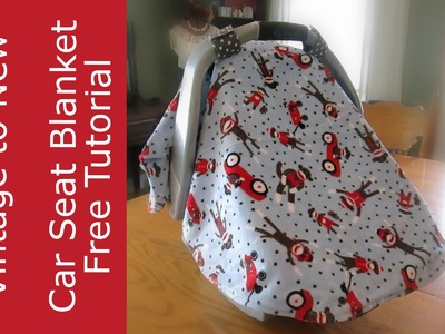 Baby Car Seat Cover. Blanket