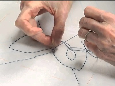 BigStitch Lesson 5: The ending knot