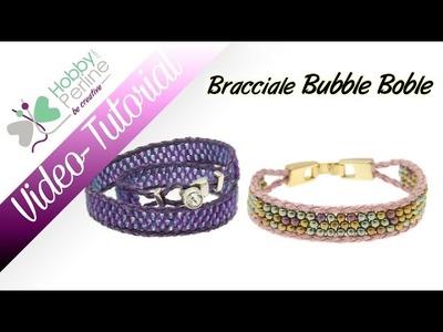 Bracciale Bubble Bobble | TUTORIAL - HobbyPerline.com