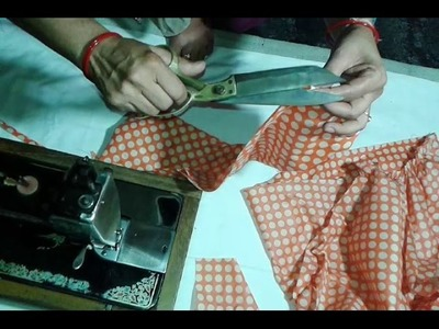 Churidar pajami cutting and stitching in hindi