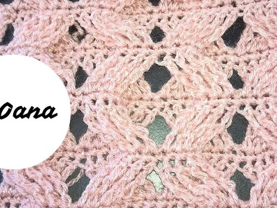 Crochet braided stitch