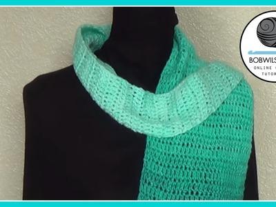 Crochet Shawl Tutorial Easy