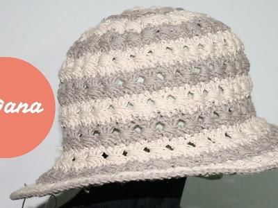 Crochet summer hat   by Oana