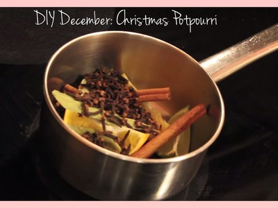 DIY December: Christmas Potpourri