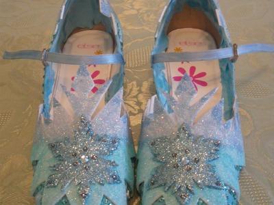 Elsa shoe video tutorial