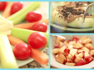 Healthy Snacks for After School ♡ Quick and Easy