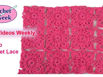 How to #Crochet #Lace Motif