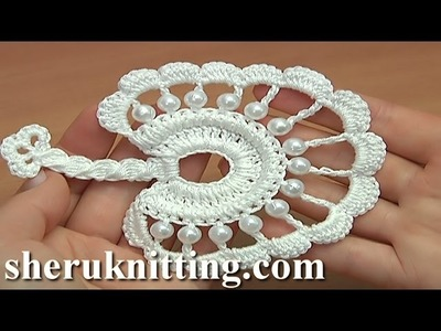 How to Crochet Round Leaf Tutorial 36