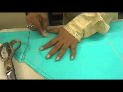 How to Cut Churidaar Pajama.Simple Churidar Cutting Method.Easy *