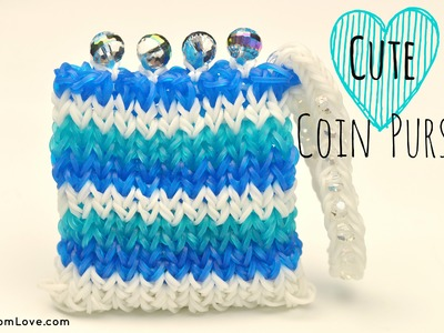 How to Make a Cute Rainbow Loom Coin Purse