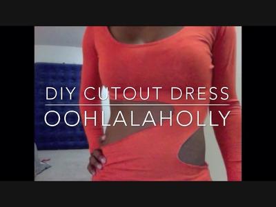 How to Make a Cutout Dress