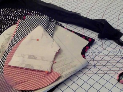 How to make a Retro Apron my Version Part1