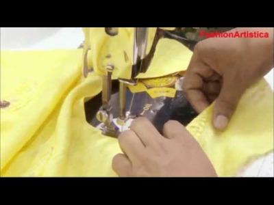 How To Make Perfect Salwar Kameez Neck Design:Salvar Kameej Neck Making Tutorial
