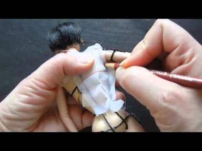 How to Make Slopers for the fashion doll. Pt.2 Basic Bodice