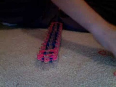 How to make the rainbow loom Laffy Taffy Twisty Witsy bracelet