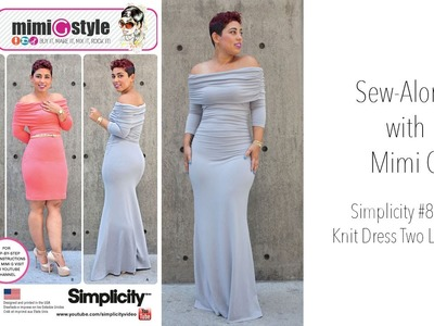 How to Sew a Dress with Mimi G Style Simplicity 8045
