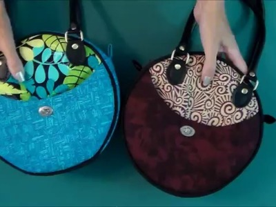 Intro to the Roundabout Bag pattern