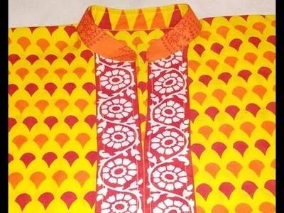 Kurti Neck Collar Design.Neck Design