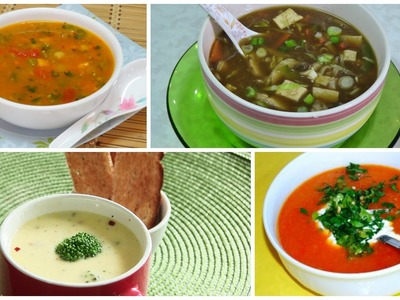 Let's start 2016 off right with a healthy and hearty soups from Bhavna's Kitchen