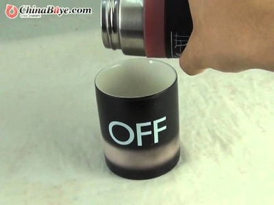 Magical On.Off Color Changing Mug from chinabuye