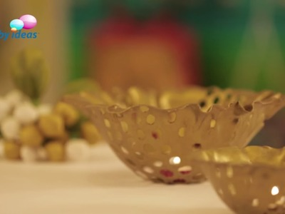 Make Beautiful Flower Bowls For Your Ganesha Decoration