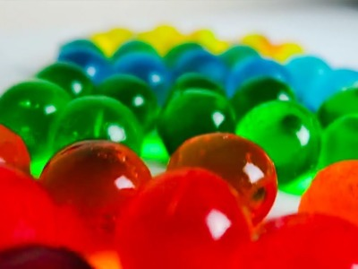 Make Edible Orbeez Water Ballz Polymer Balls - Easy Instructions