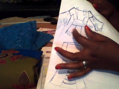 MAKING AN AFRICAN BLOUSE AND LONG SKIRT WITH LUTTERLOH SYSTEM (002)
