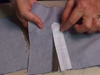 Men's Sleeve Placket Tutorial