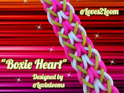 "New ""Boxie Heart"" Hook Only Bracelet.How To Tutorial"