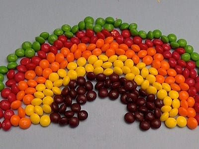 New Learn Colours with Surprise Eggs and a Skittles Rainbow! Part 7