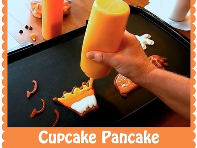 Pancake Art Tutorial: Cupcake by Jenni Price