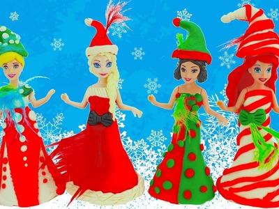 Play Doh Disney Princess Elsa Snow White Cinderella Magic Clip Dress | AmuzingToyz