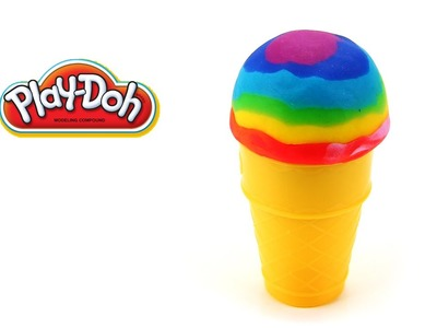 Play Doh Rainbow Ice Cream Easy