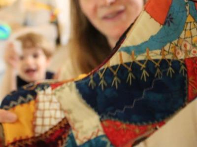 Postpartum Pads | Mama Cloth Stash and Storage