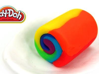 Rainbow Roll Cake Easy