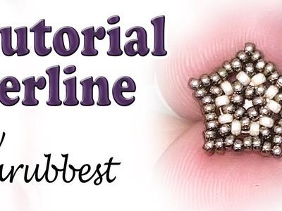 Sarubbest: tutorial perline - Stella con perline - Come fare orecchino a perno