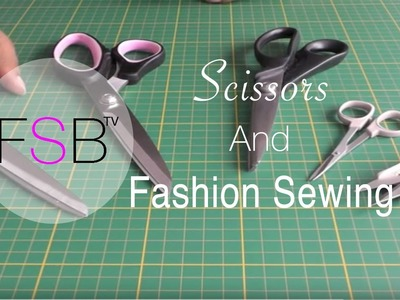 Scissors and Fashion Sewing