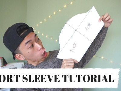 Short Sleeve Pattern Tutorial! | KAD PATTERNS #2