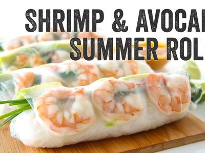 Shrimp and Avocado Summer Rolls Recipe : Season 3, Ep. 3 - Chef Julie Yoon