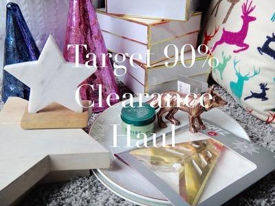 Target 90% CLEARANCE Haul | Christmas + Decor