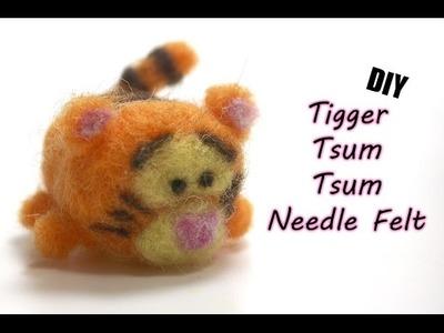 Tigger Tsum Tsum   Needle Felt Tutorial