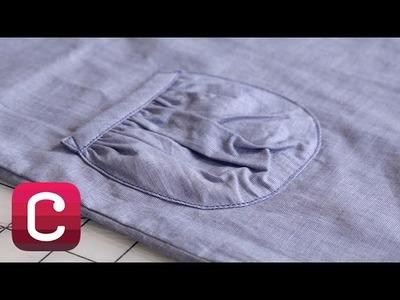 Topstitching & Edge-Stitching with Liesl Gibson | Creativebug