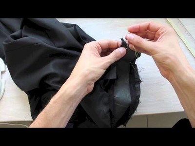 Trousers from scratch, Part 11a: Finalizing the waistband - Pretty fly for a back slack