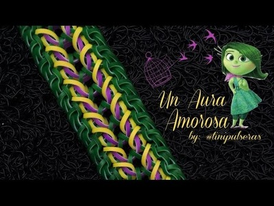 UN AURA AMOROSA Hook Only bracelet tutorial