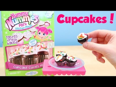 Yummy Nummies Chocolate Cupcake Cuties Maker DIY Review